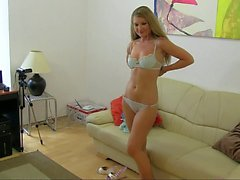 Perfect Angel in lesbian casting