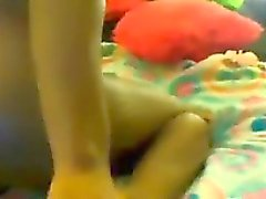 Ebony Teen Girl With A Toy