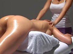 Art of the Female Swedish Body Massage - Sensual Massage Tutorial