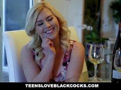 TLBC - Hot Blonde Teen Nurtures Black Cock
