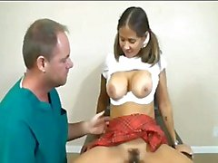 Rio visits the doctor for a creampie