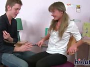 Intense anal session with an adorable teen
