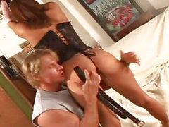Savannah Stern - Young Redhead Hottie Banged On Her Shave Pussy