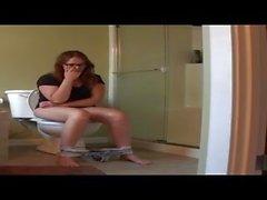 Butthole Girls 15 - Alisha on the Toilet 2