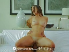 Dillion Harper uses toy dick while fucking hard cock - Passion-HD