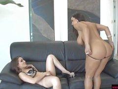 Milf Lisa Ann And teen Gabriella Paltrova in lesbian action!