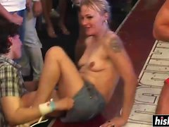 Kinky girls like to suck cocks