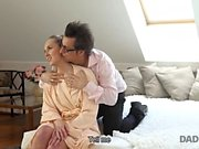 DADDY4K. Well-shaped teen was ideal sexual target for...