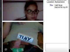 hot swiss chick reaction to small cock - SPH