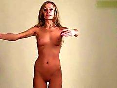 Flexible Gymnast Masha & Naked Classic Workout