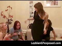 Tipsy sexy lesbians naughty at home part5