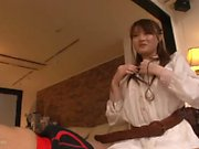 Japanese Teen Orie Okano Being Penetrated With Toys