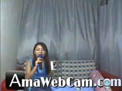 Cute Chinese Teen Dancing Nude On Webcam - amawebcam