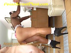 Anal Bum Babe In 15 Inch Heels