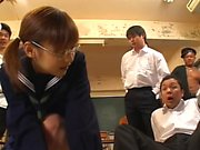 Japanese Teen Facial
