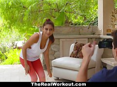 TeamSkeet - Teen Yoga Trainer Seduces Nerd