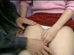 Young Japanese Schoolgirl Gets Fucked