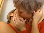 Latina Trash Kissing Orgy 2