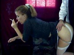 Teen in Stockings Masturbates Free Amateur Porn
