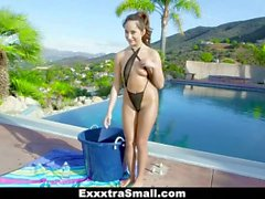 ExxxtraSmall - Small Flexible Teen Isabella Nice Gets Filled With Cock
