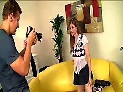 Schoolgirl, Pervert photographer