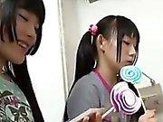 Beautiful Japanese Sluts Dominating A Guy