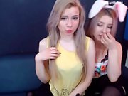 twins blonde teens eat each other out hot one