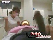 Japanese Dentist Nurse Gives Handjob To Patient