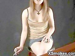 Smooth Teen Smoking Wild XXX