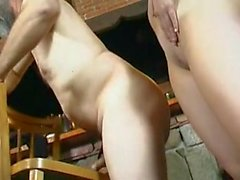 Horny OLD MAN fucks YOUNG CHICK 06