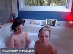 peaceful non-family bathtub time