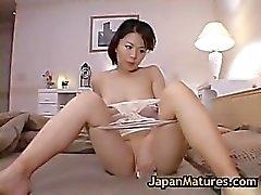 Mature bigtit miki sato masturbating part3