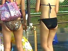 softcore nonnude asian beach bikini voyeur