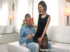 Young Courtesans - Volcano of passion and cum