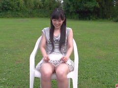 Outdoor toy porn XXX spectacle along Yui Kasugano