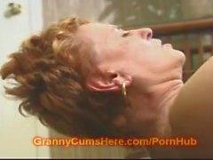 Retired slut teacher FUCKS her Student