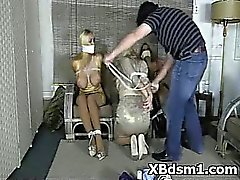 BDSM Bondage For Rude Young Hottie