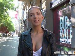 Amazing Teen Bella Aviva has Hardcore Sex in Public