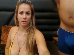 huge booobs girl drilled by BF