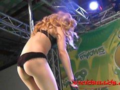Pole Dance Chiki Dulce FEDA 2014 Viciosillos