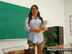 Asa Akira Is Fucked By Her Teacher For Being A Kiss Ass