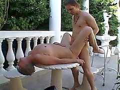 Horny granny nailed by younger guy