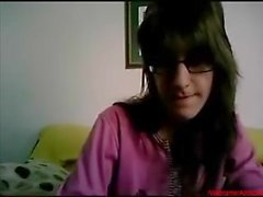 #0368 - Skype girl having fun