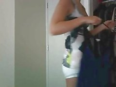 Sammii1 Shy Teen Dances And Masturbates On Webcam