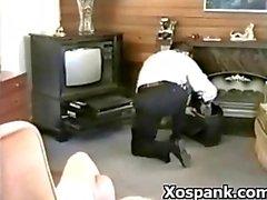 Spanking Teen In Seductive Fetish Domination