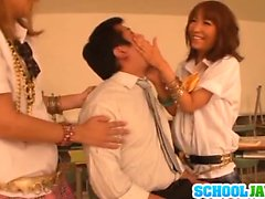 Teen Rena Konishi And A Friend Are Creampied After A Threesome