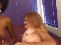 freaky crippled midget with babe 3