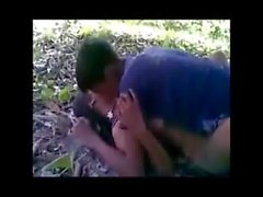 Indian sex video jangal sex with her boy friend on adultstube