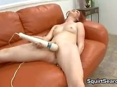 Dirty Redhead Squirts And Fucks