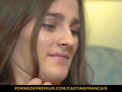 CASTING FRANCAIS - Doggy style fuck in Canadian audition